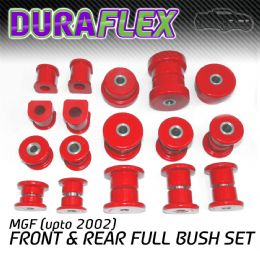 MGF (UPTO 2002) FRONT & REAR BUSH SET
